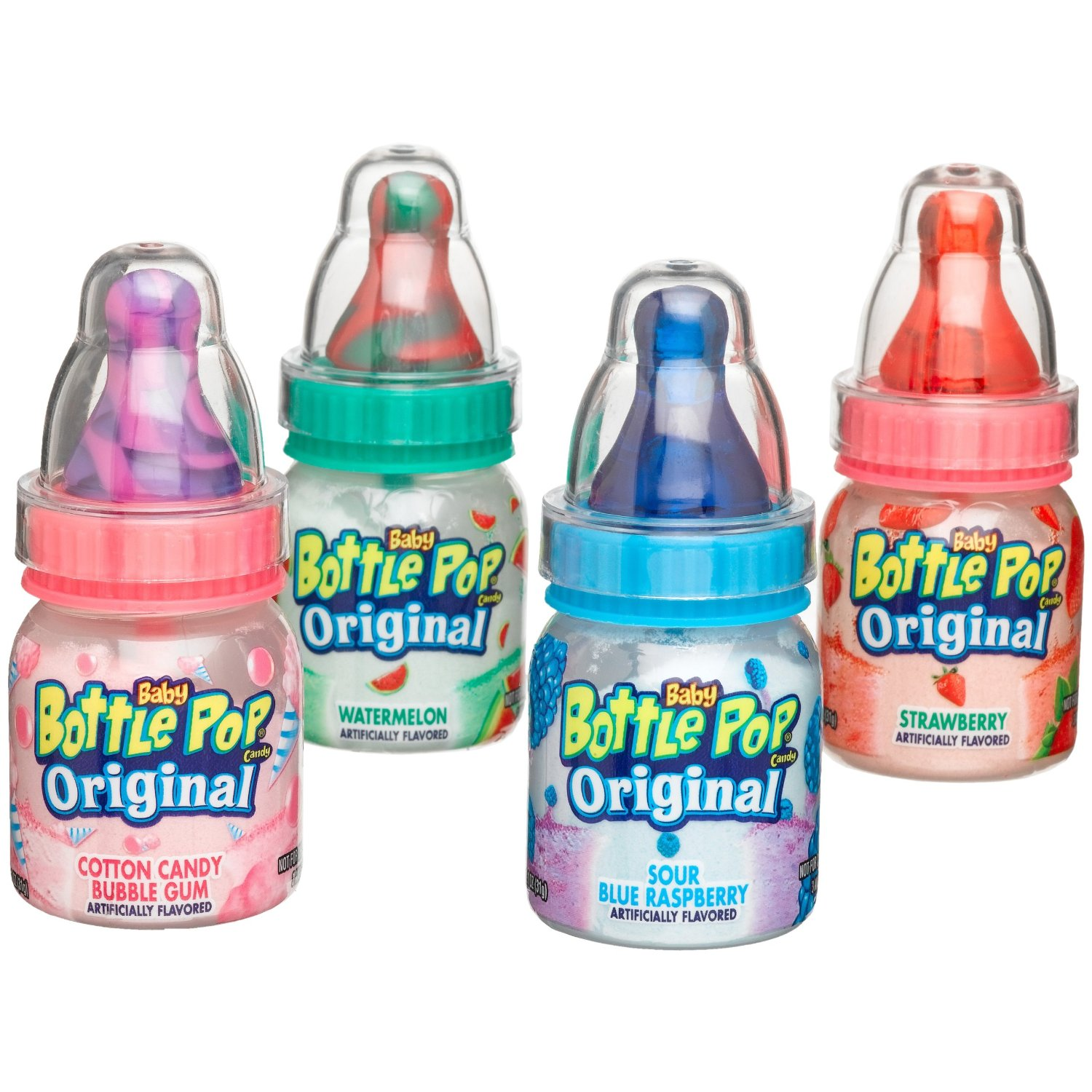 Fun Old Time Candy Products - Baby Bottle Pops| Homemade Recipes http://homemaderecipes.com/course/appetizers-snacks/old-time-candy